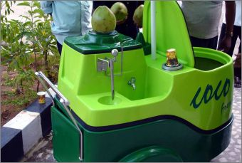 India Together Tender Coconut Juice Instantly Chilled