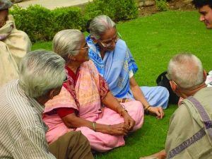elderly people should find refuge in In blessings of age, special words are offered for (1) older people themselves, (2) caregivers, (3) the parish faith community--pastors, staff, volunteers, and all parishioners, and (4) younger adults.